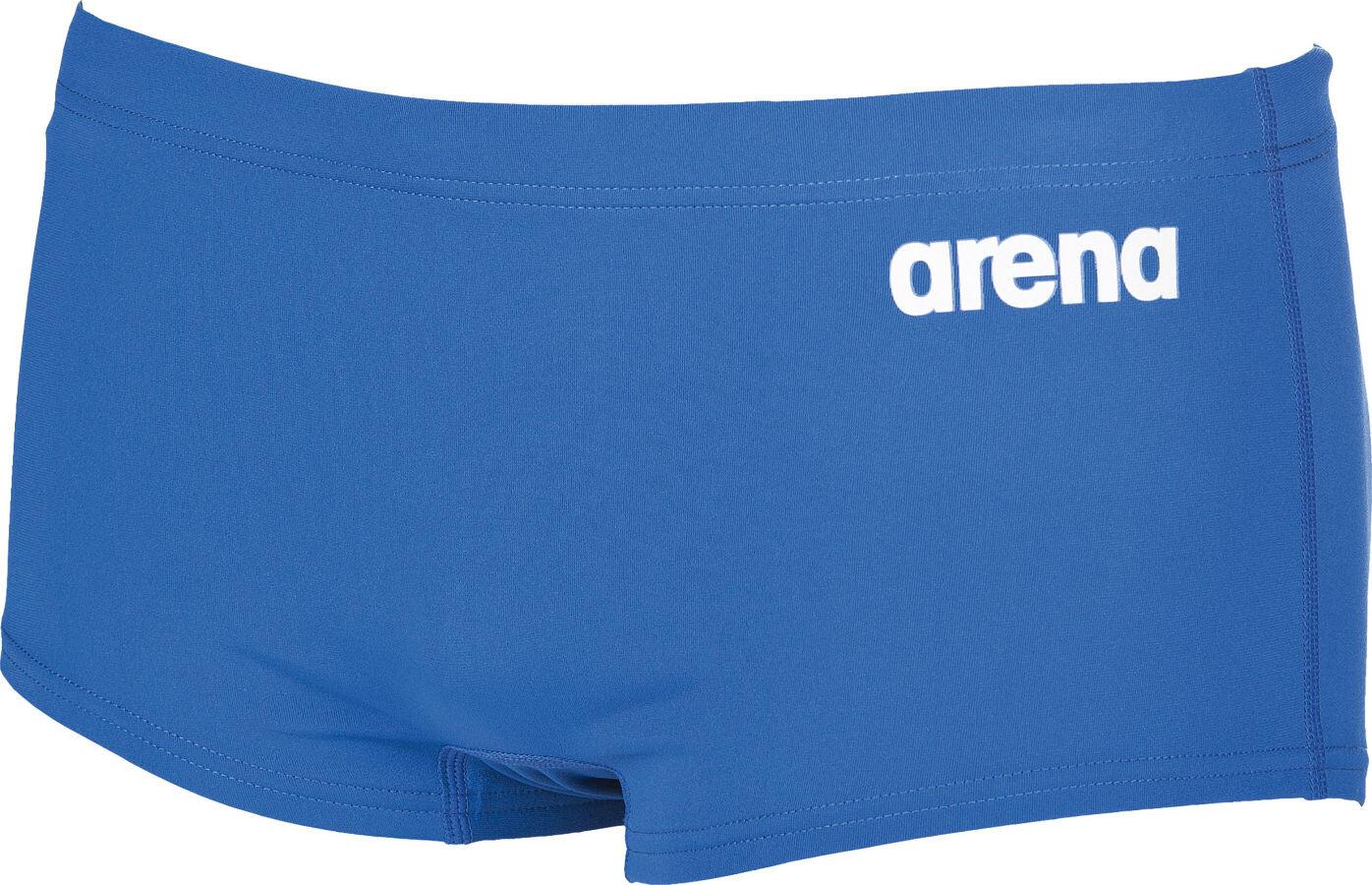 Arena Mens Herren Trainings Badehose Solid Squared Swim Trunks